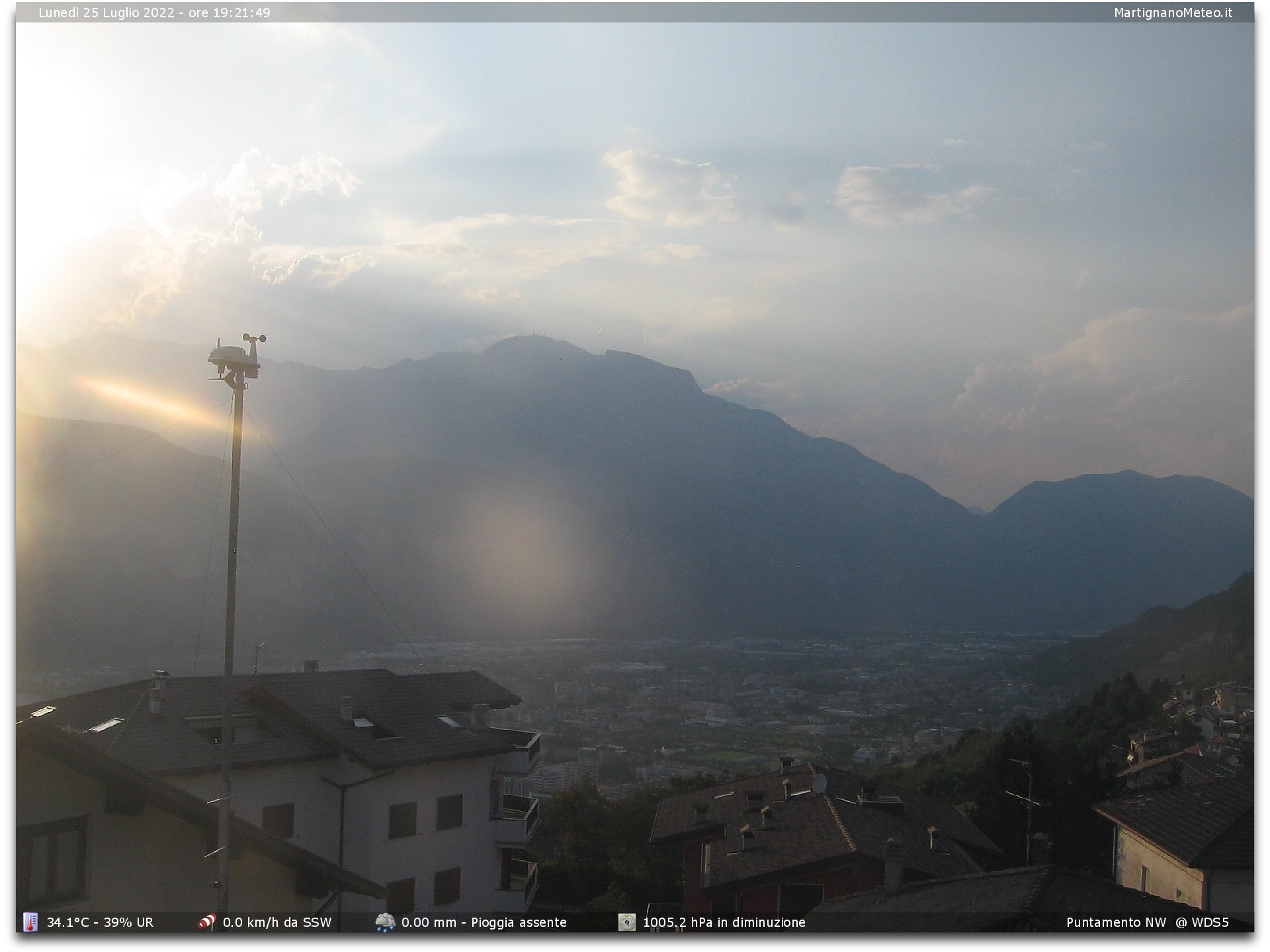 Webcam Trient/Trento
